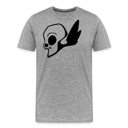 Comic Schädel - Männer Premium T-Shirt