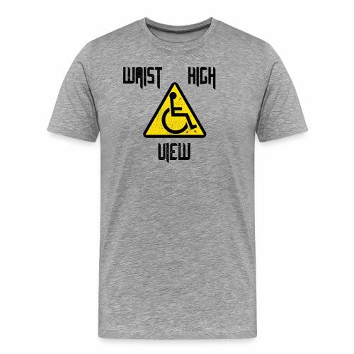 WaistHighView White - Men's Premium T-Shirt