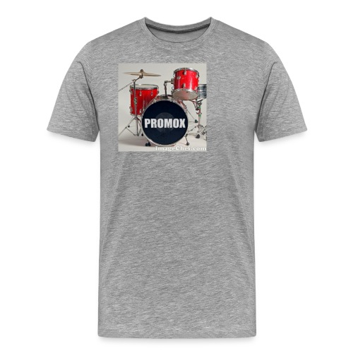 batería rock (banda) - Camiseta premium hombre