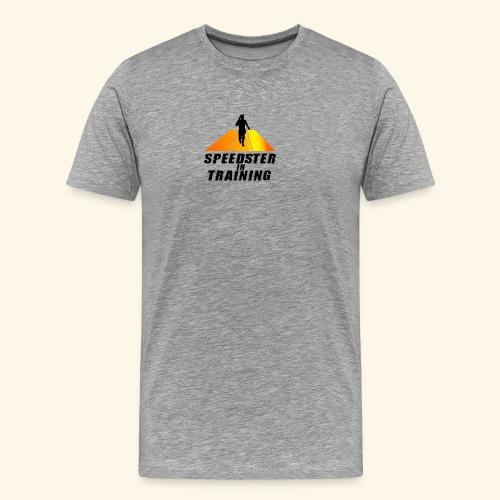Speedster in Orange - Men's Premium T-Shirt