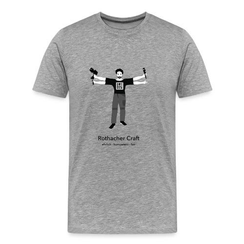 Rothacher Craft - Männer Premium T-Shirt
