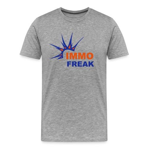 IMMO FREAK - Männer Premium T-Shirt
