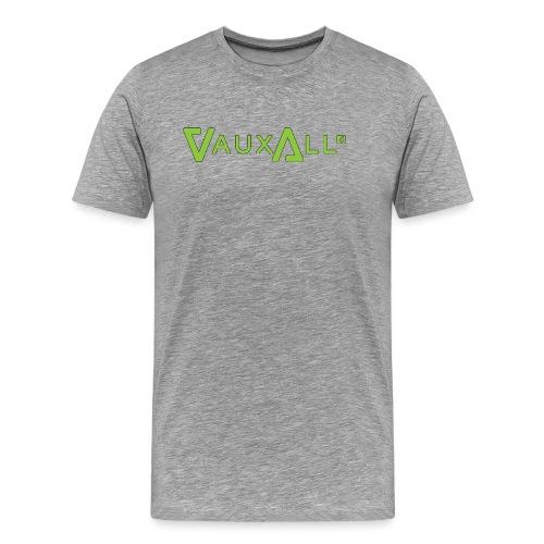 VauxAll Logo | Green | Original - Men's Premium T-Shirt