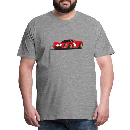 Illustration of a legend - Männer Premium T-Shirt