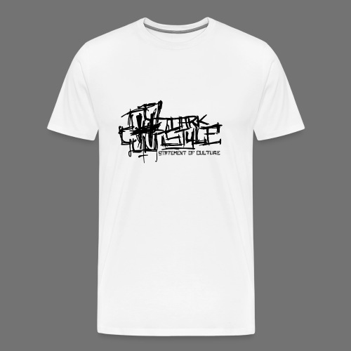 Tumma Style - Statement of Culture (musta) - Miesten premium t-paita