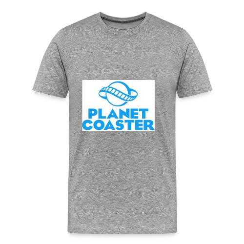 game planet coaster - Mannen Premium T-shirt