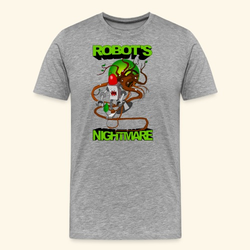robots_nightmare - Männer Premium T-Shirt