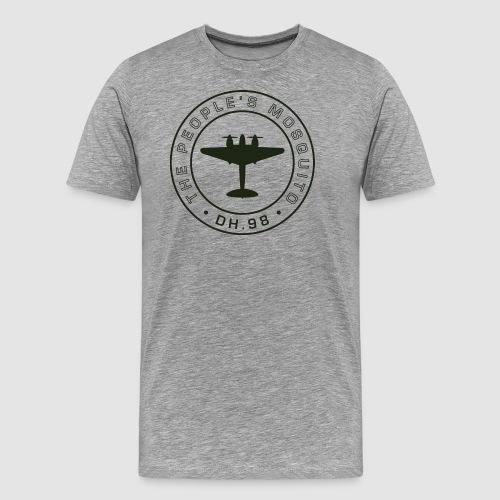 TPM_MPLogo14_Outline-01 - Men's Premium T-Shirt