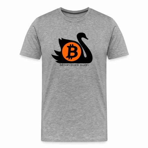 Bitcoin Black Swan - Men's Premium T-Shirt