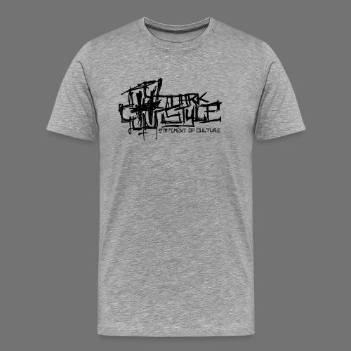 Mørk Style - Statement of Culture (sort) - Herre premium T-shirt