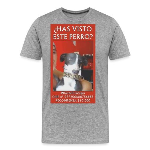 #dóndeestáargos ARGOS ver.rojo - Camiseta premium hombre
