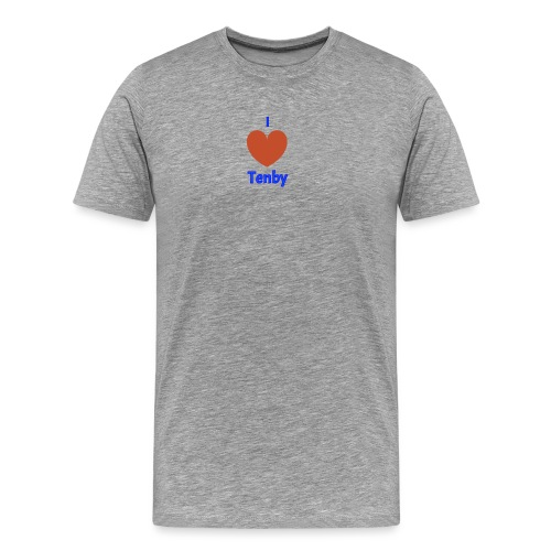 I love Tenby - Men's Premium T-Shirt