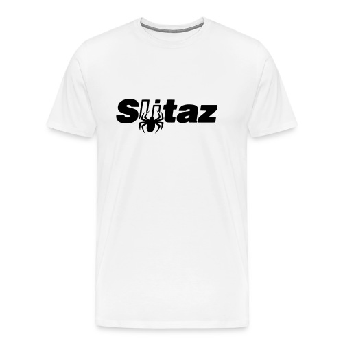 SliTaz Black Logo - Men's Premium T-Shirt