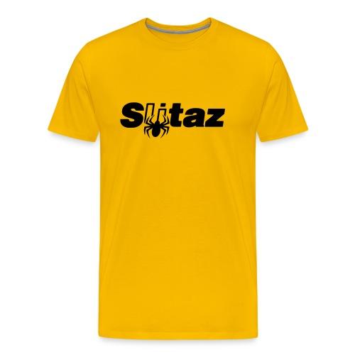 SliTaz Black Logo - Men's Premium T-Shirt