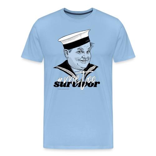 #metoo survivor - Herre premium T-shirt