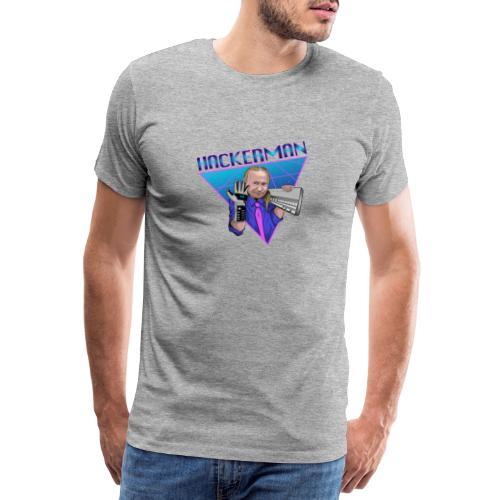 Hackerman - Premium T-skjorte for menn