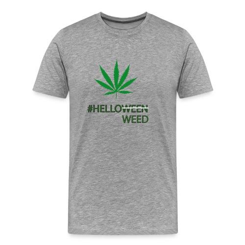 Helloween/weed Fun T-Shirt - Männer Premium T-Shirt