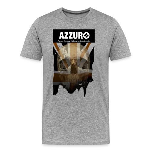 azzuroskull - Men's Premium T-Shirt