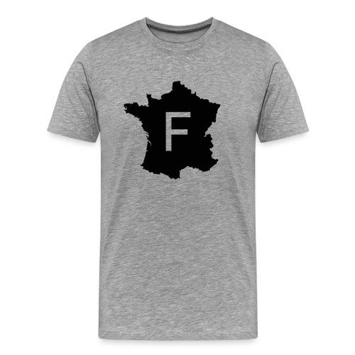 France noir - T-shirt Premium Homme