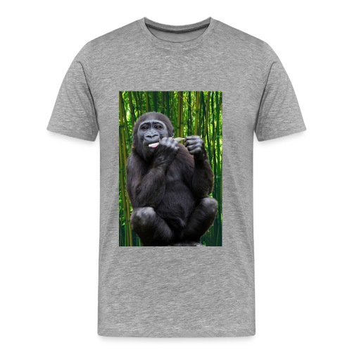 gorillaSMOKEweed - Männer Premium T-Shirt