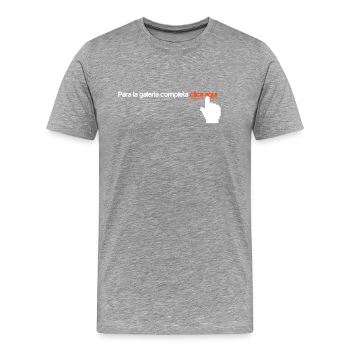 Clica Aqui - Maglietta Premium da uomo
