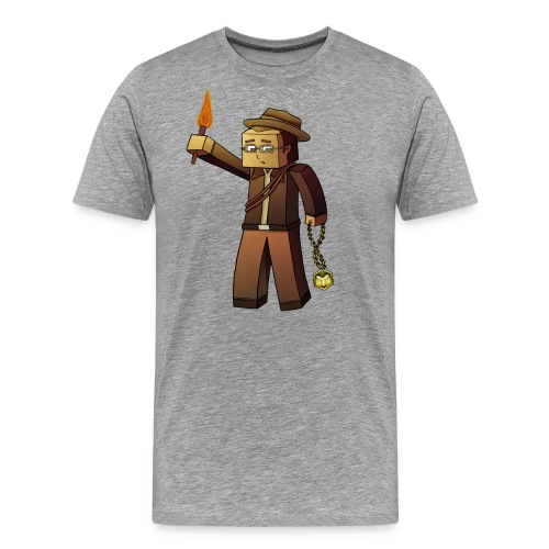 CraftD Minecraft - Men's Premium T-Shirt