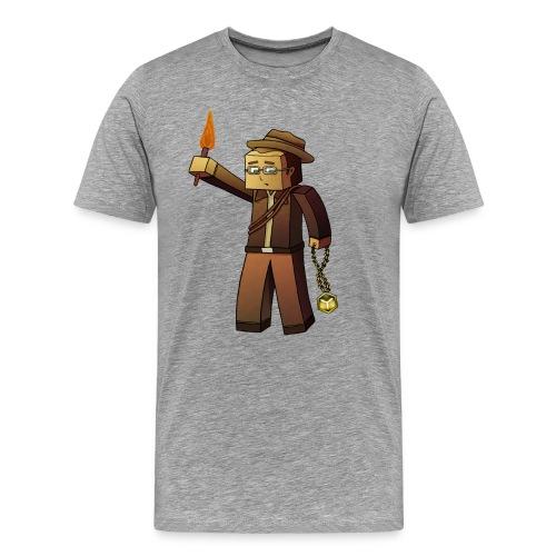 CraftD Minecraft - Men's Premium T-Shirt