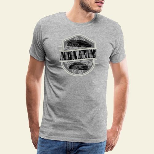 rd kustoms gray - Herre premium T-shirt