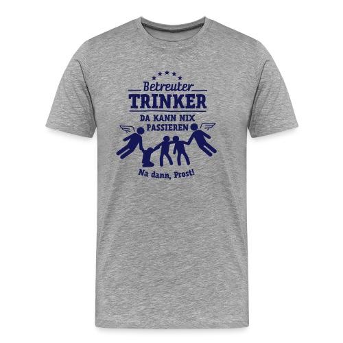 betreuter-trinker - Männer Premium T-Shirt