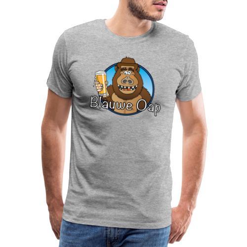 Blâuw Oap - Mannen Premium T-shirt