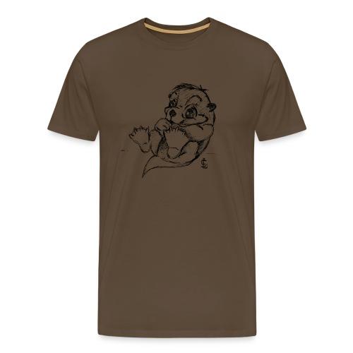 Loutre - T-shirt Premium Homme