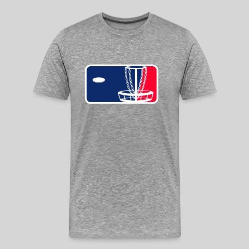 Major League Frisbeegolf - Miesten premium t-paita