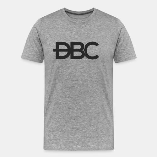 DBC Logo unicolore géan - T-shirt Premium Homme