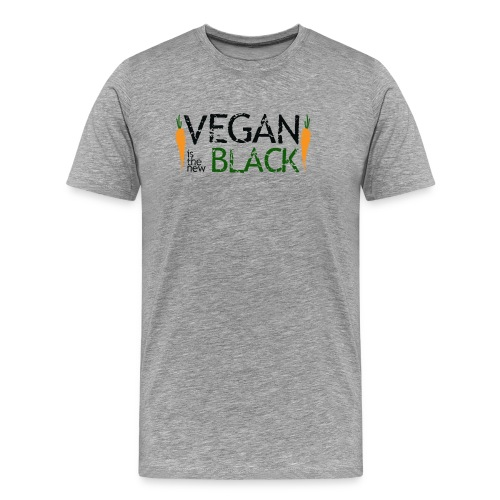 Vegan is the new black - Camiseta premium hombre