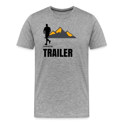 Graine de TRAILER - T-shirt Premium Homme