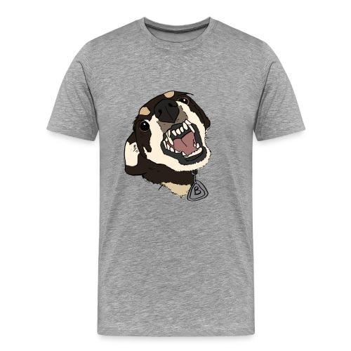 angry doggo - Männer Premium T-Shirt