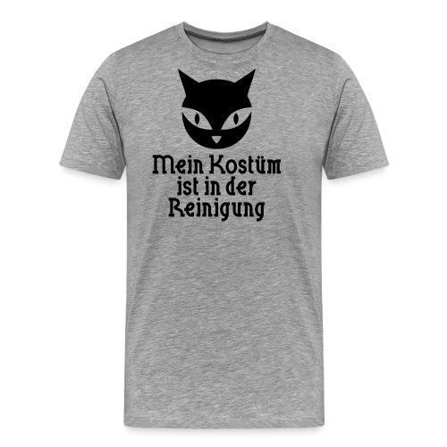 Katzen Kostüm - Männer Premium T-Shirt