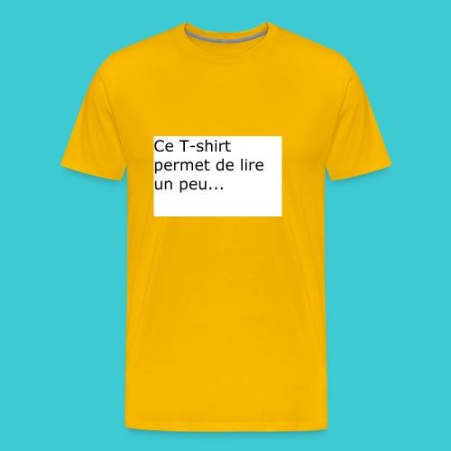 t shirt3 - T-shirt Premium Homme