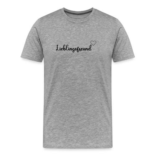 Lieblingsfreund Couple Geschenk Valentistag - Männer Premium T-Shirt
