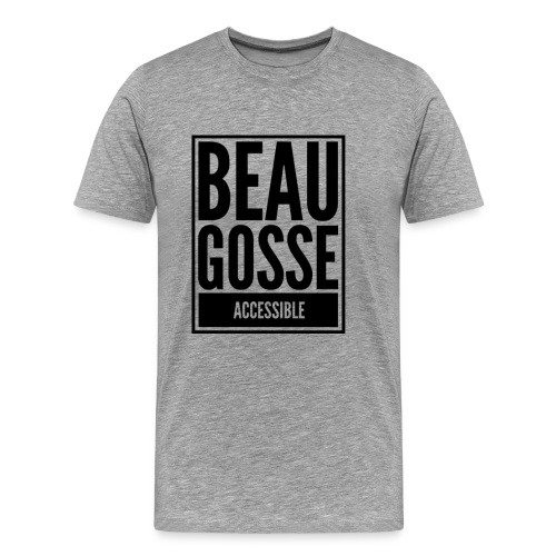 Beau gosse accessible - T-shirt Premium Homme