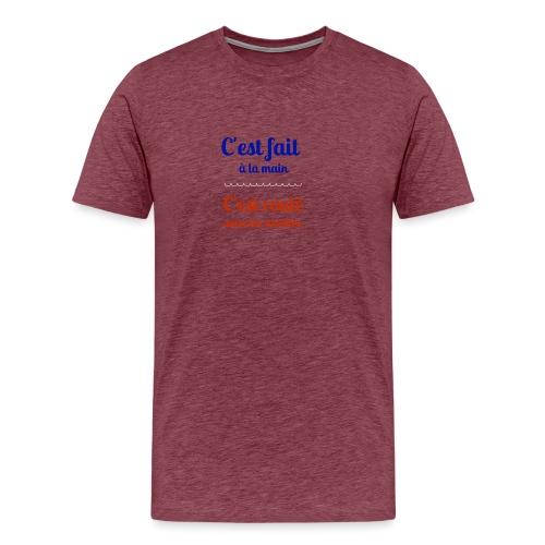 Roulé sous les aiselles - T-shirt Premium Homme