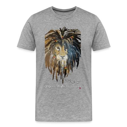 5272618_117487754_fsslion - Men's Premium T-Shirt