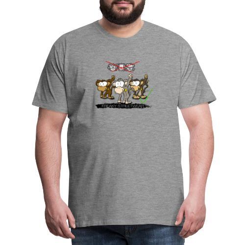 Protest-Äffchen 2 - Männer Premium T-Shirt