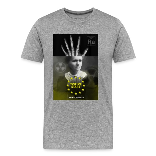 EURO GENIOUS - MARIE CURIE - Men's Premium T-Shirt