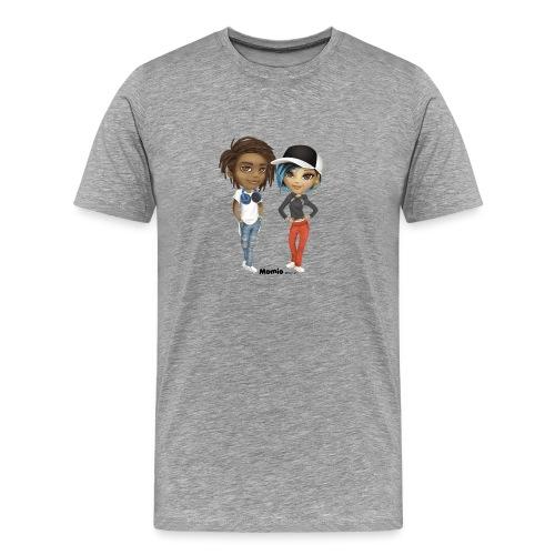 Maya & Noa - Premium T-skjorte for menn