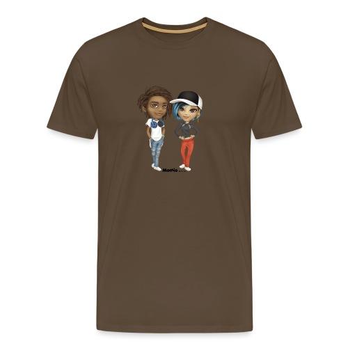 Maya & Noa - Mannen Premium T-shirt