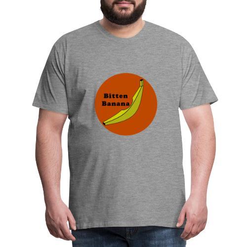 Bitten Banana - Maglietta Premium da uomo