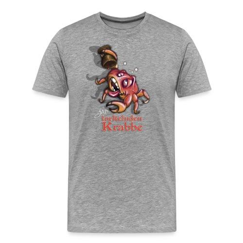 Zur torkelnden Krabbe - Männer Premium T-Shirt