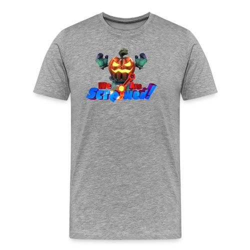 We Are Screwed Pumpkin - Men's Premium T-Shirt