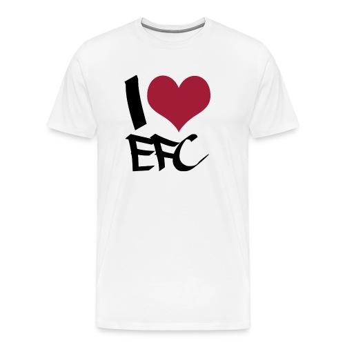 iloveefc black - Männer Premium T-Shirt